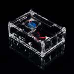 Raspberry Pi B+/2/3 Acrylic Case with Cooling Fan