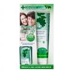 Dentiste' Plus White Toothpaste ยาสีฟัน เดนทิสเต้ 160g แถมฟรี น้ำยาบ้วนปาก Dentiste' 50ml