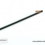 ก้างปลา 40 ขา 2.54 มม. สีดำ (40 Pin 2.54mm Single Row Male Pin Header Strip)