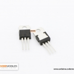 7805 Voltage Regulator IC 5VDC, 1.5A (TO-220) แปลงไฟ 5V