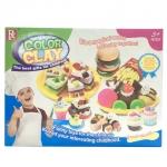 Toontoys แป้งโดว์ ชุดทำขนมเค้กและอาหาร ColorCaly