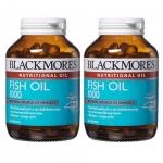 Blackmores Fish Oil 1000 mg 80 เม็ด แพ็คคู่