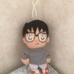 <พร้อมส่ง> ตุ๊กตาห้อย เอโดงาวะ โคนัน Conan แบบ2