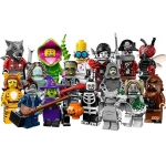 LEGO Minifigures Series 14 Minifigures Complete 16 Packs 71010