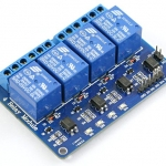 4-channel 5V/10A Relay module
