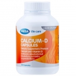 Mega We Care Calcium D 90 เม็ด บำรุงกระดูกและฟัน ป้องกันกระดูกพรุน