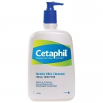 Cetaphil Gentle Skin Cleanser ขวดใหญ่ 1,000 ml ทำความสะอาดผิวหน้าและผิวกาย