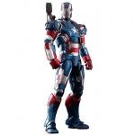 Dragon Models โมเดล ฟิกเกอร์ Iron Man 3 - Iron Patriot Model Kit(1/9 Scale)