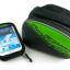กระเป๋าคาดเฟรม B-SOUL ใส่มือถือ สัมผัสได้ BIKE258 เขียว thumbnail 4