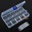 กล่องใส่อุปกรณ์พลาสติก ขนาดเล็ก แบบปรับเลื่อนได้ 15 ช่อง thumbnail 3