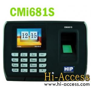 เครื่องสแกนลายนิ้วมือ ยี่ห้อ HIP รุ่น CMI681S (บันทึกเวลาทำงาน)