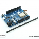 WeMos D1 R2 WiFi ESP8266 Development Board Compatible Arduino UNO Program Board (พร้อมก้างปลา 40 ขา 2.54 มม.)