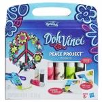 Play-Doh แป้งโดว์ DohVinci Peace Project Design Kit - Blue