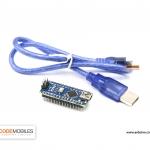 Arduino Nano 3.0 Mini USB รุ่นใหม่ใช้ชิฟ CH340G แถมสาย Mini USB