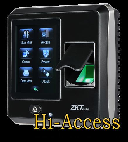 เครื่องสแกนลายนิ้วมือ ยี่ห้อ ZK Teco รุ่น SF300 (ระบบ Access Control)