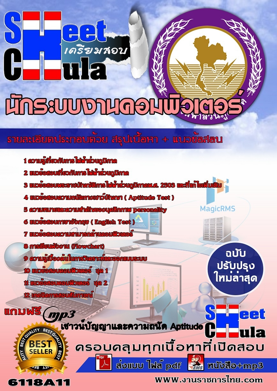 ข้อสอบราชการ คู่มือสอบข้าราชการ แนวข้อสอบนักระบบงานคอมพิวเตอร์ การไฟฟ้าส่วนภูมิภาค