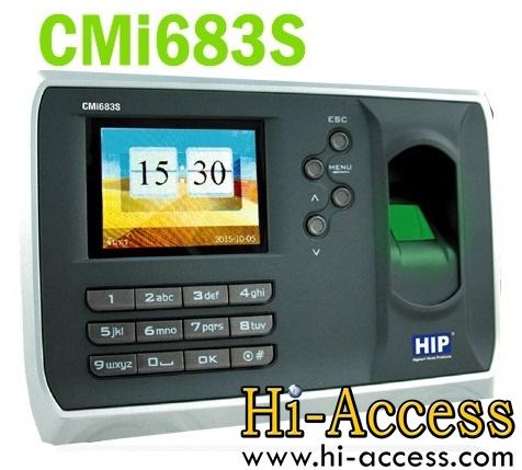 เครื่องสแกนลายนิ้วมือ ยี่ห้อ HIP รุ่น CMI683S (บันทึกเวลาทำงาน)