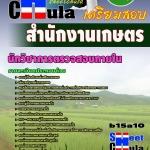 หนังสือเตรียมสอบ คุ่มือสอบ แนวข้อสอบนักวิชาการตรวจสอบภายใน สำนักงานเกษตร