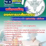 แนวข้อสอบพนักงานพัสดุ องค์การเภสัชกรรม 2560