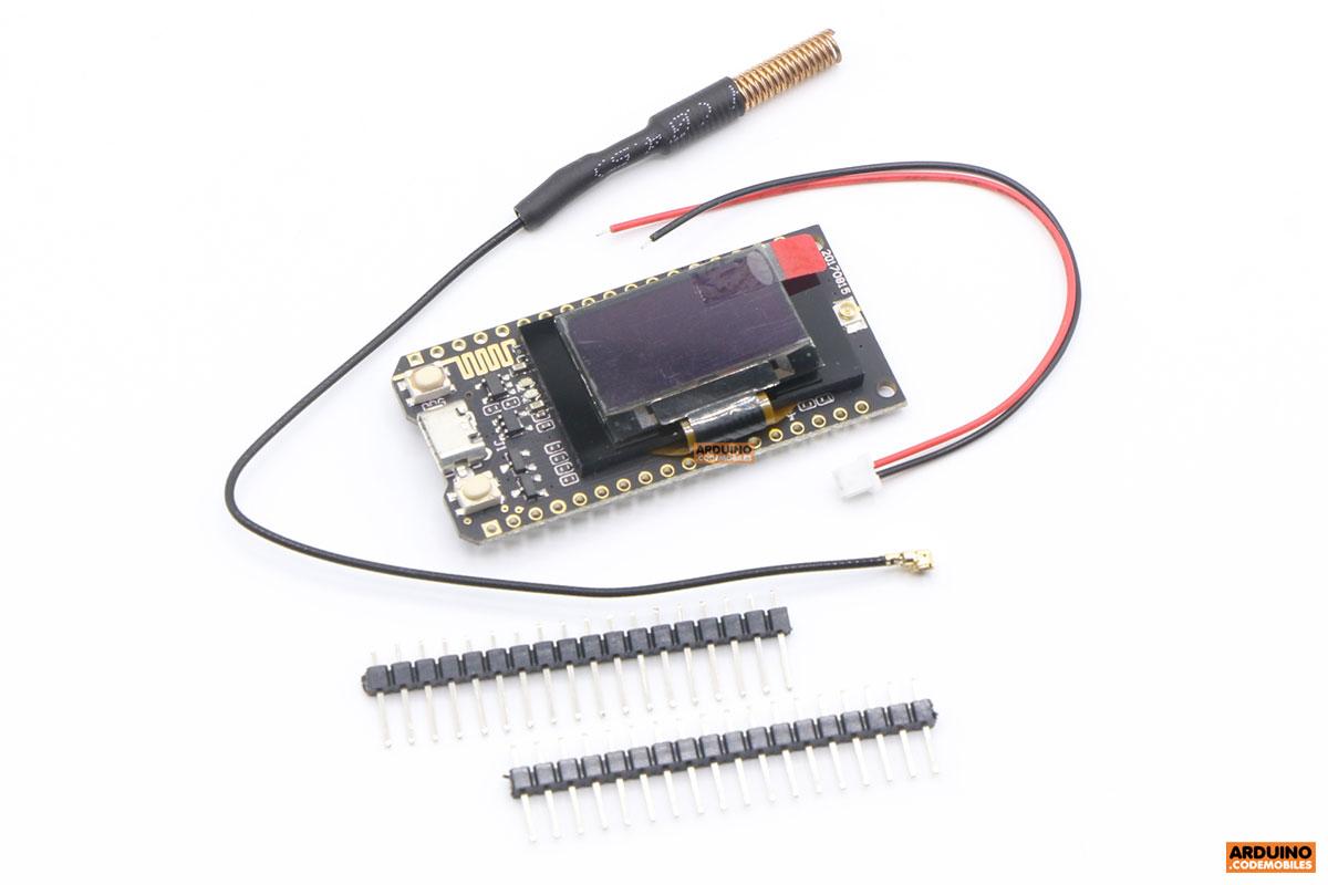TTGO LORA32 433Mhz ESP32 0 96 inch screen Bluetooth WIFI module